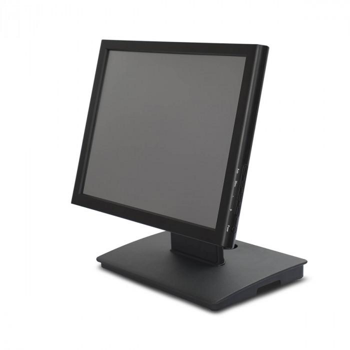 Сенсорный POS-монитор MERTECH-1528R c подставкой Aluminum Alloy