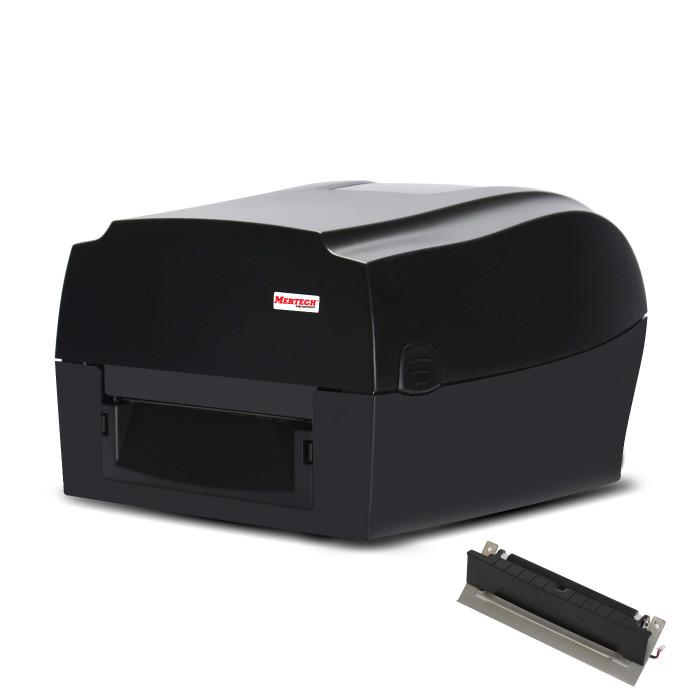Термотрансферный принтер этикеток MPRINT TLP300 TERRA NOVA USB, RS232, Ethernet Black с отделителем
