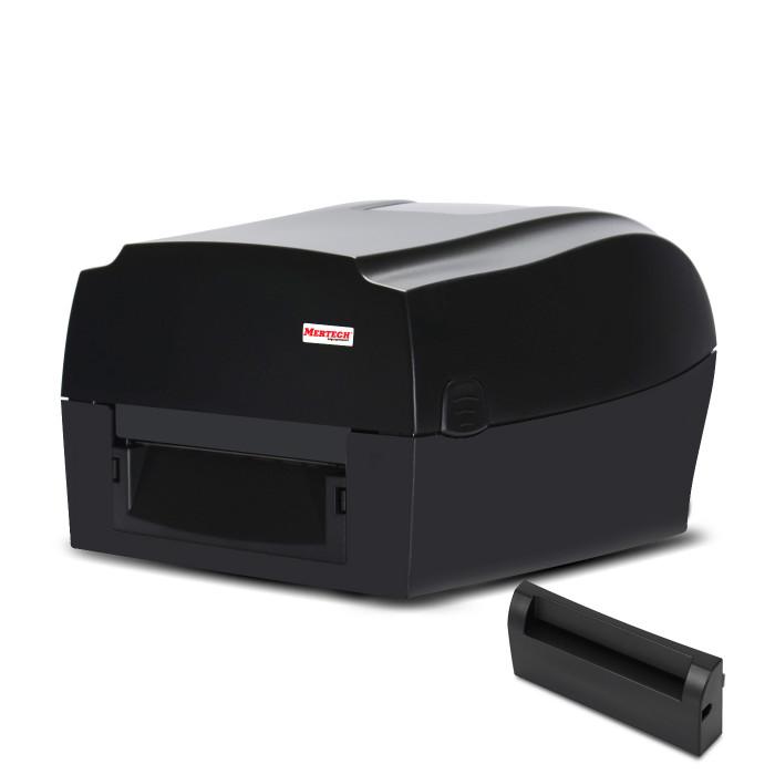 Термотрансферный принтер этикеток MPRINT TLP300 TERRA NOVA (300 DPI) USB, RS232, Ethernet Black с отрезчиком