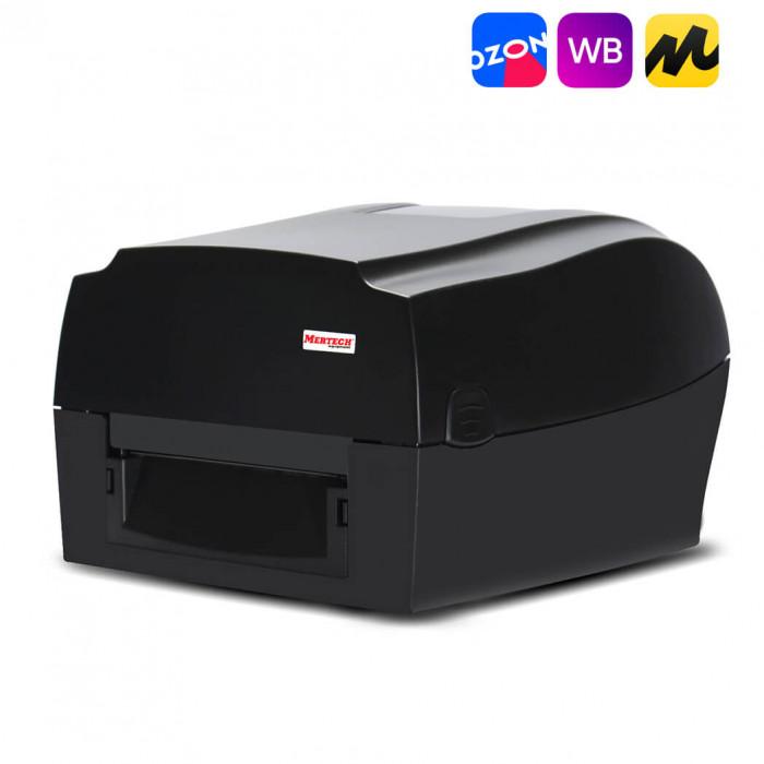 Термотрансферный принтер этикеток MPRINT TLP300 TERRA NOVA USB, RS232, Ethernet Black