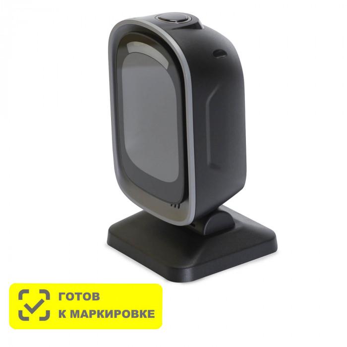 Стационарный сканер штрих-кода MERTECH 8500 P2D Mirror Black