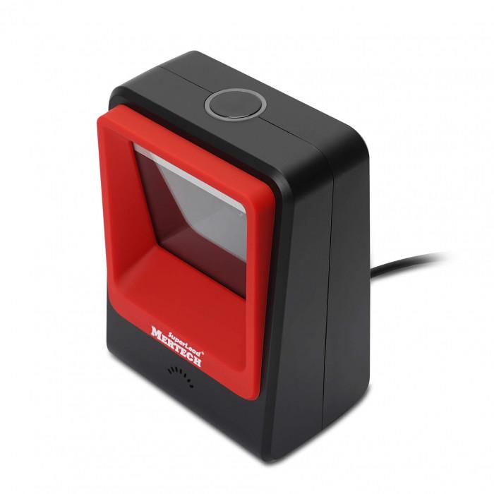 Стационарный сканер штрих кода MERTECH 8400 P2D Superlead USB Red