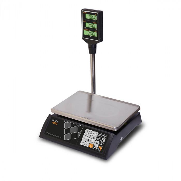 """Торговые настольные весы M-ER 327 ACP-32.5 """"Ceed"""" LCD Черные"""