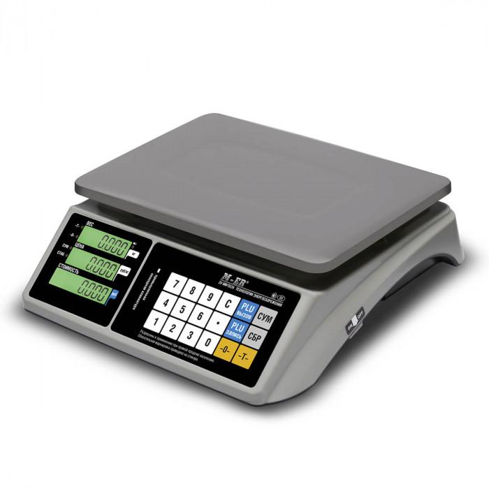 """Торговые настольные весы M-ER 328 AC-15.2 """"TOUCH-M"""" LCD RS232 и USB"""