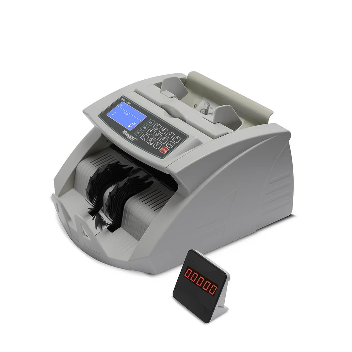 Мультивалютный счетчик банкнот Mercury C — 2000 UV White