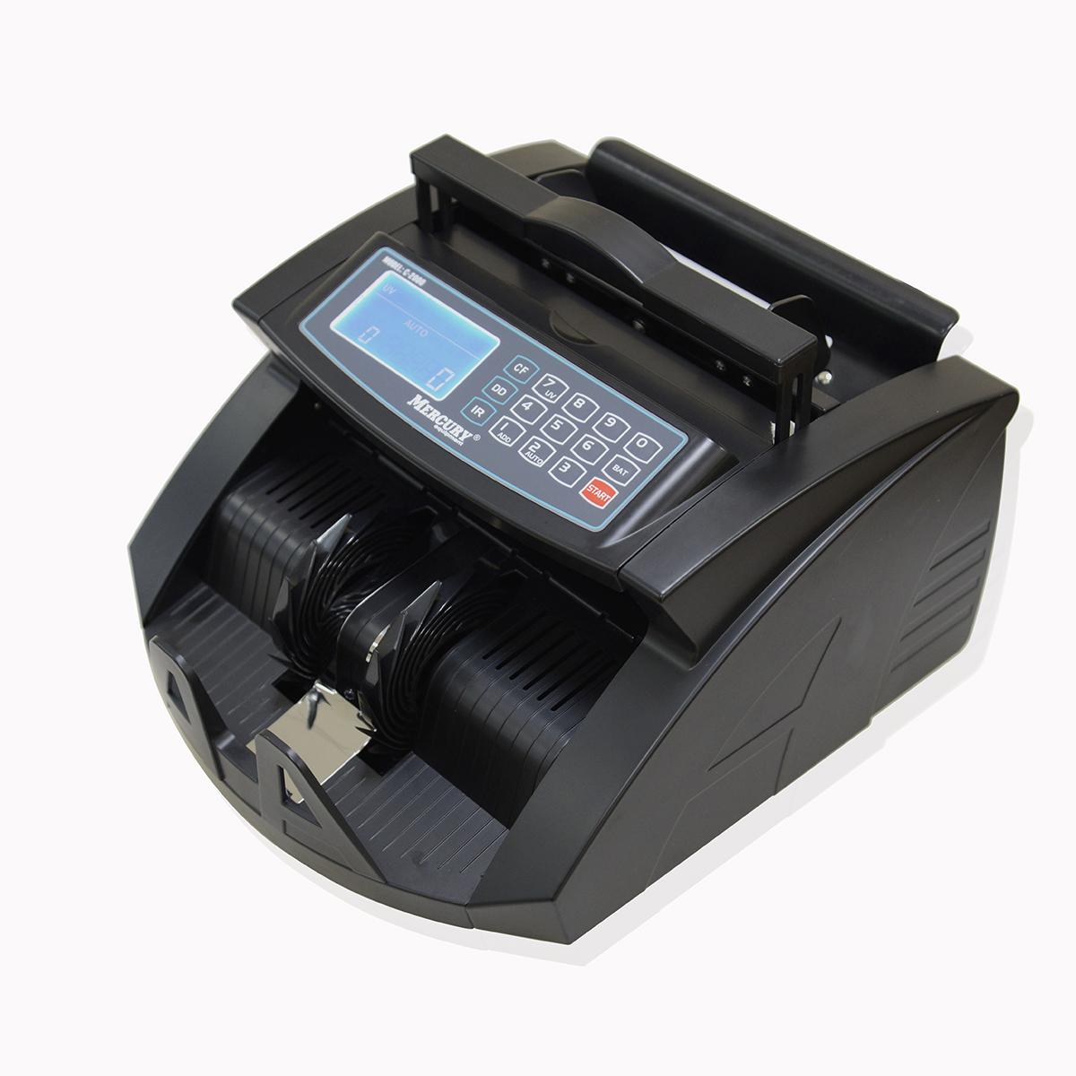 Мультивалютный счетчик банкнот Mercury C — 2000 UV Black