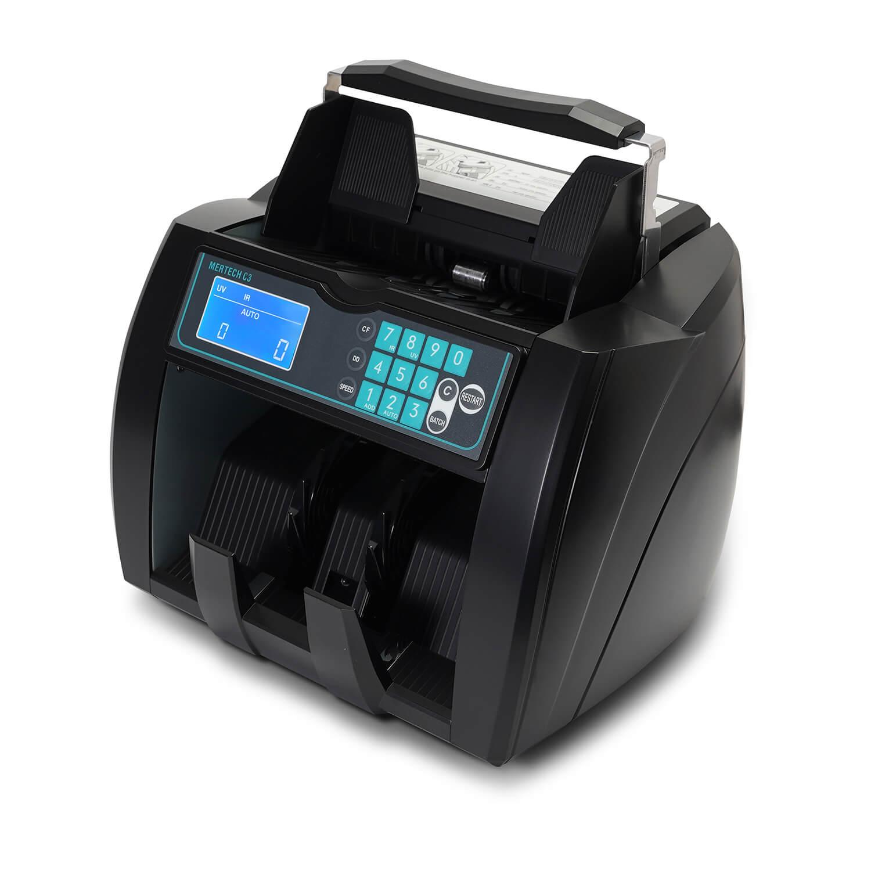 Мультивалютный счетчик банкнот  MERTECH C-3 Black