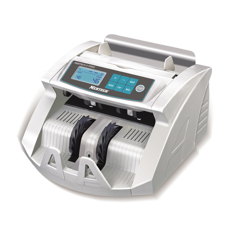 Мультивалютный счетчик банкнот MERTECH C-3000 White