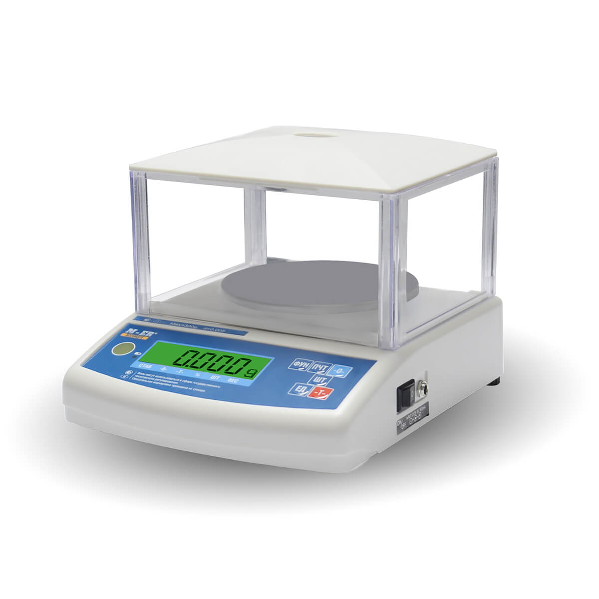 Лабораторные весы M-ER 122 АCFJR-300.01 «ACCURATE» LСD