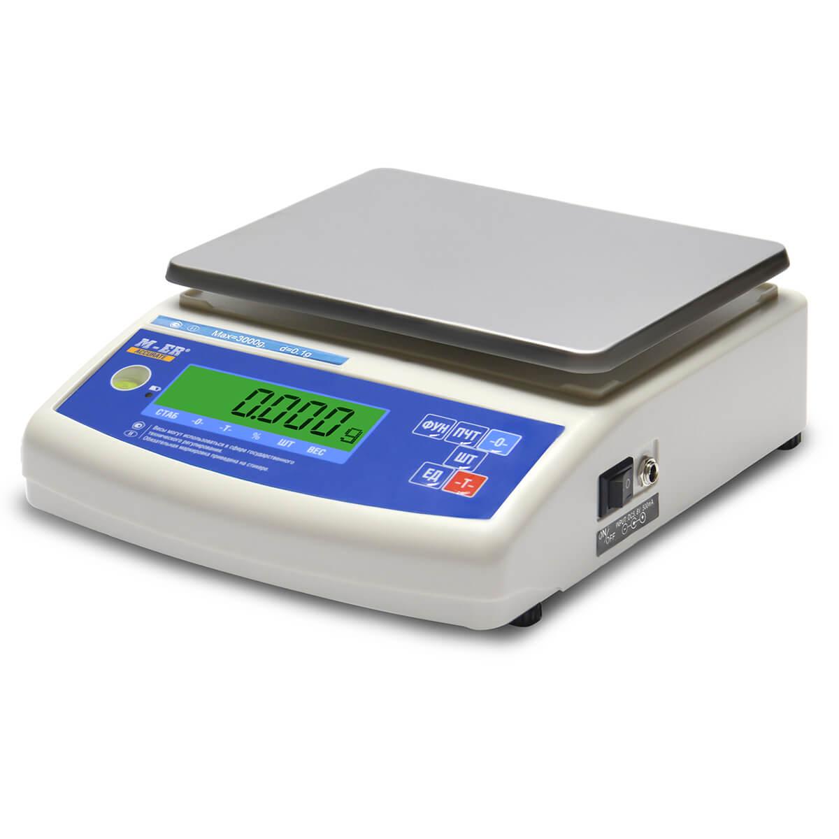 Лабораторные весы M-ER 122 АCF-3000.05 «ACCURATE» LСD
