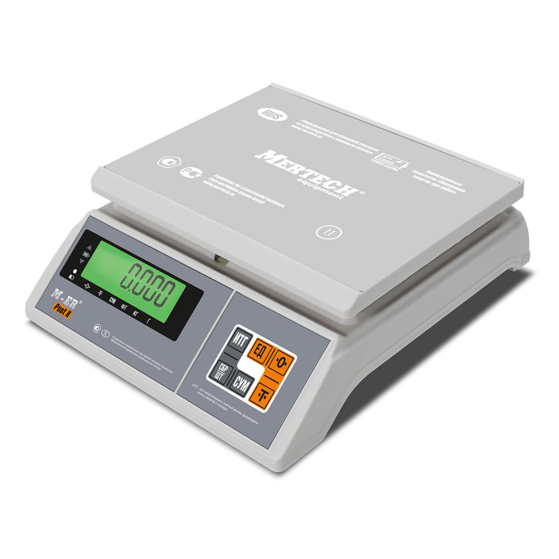 Фасовочные настольные весы M-ER 326 AFU-6.01 «Post II» LCD