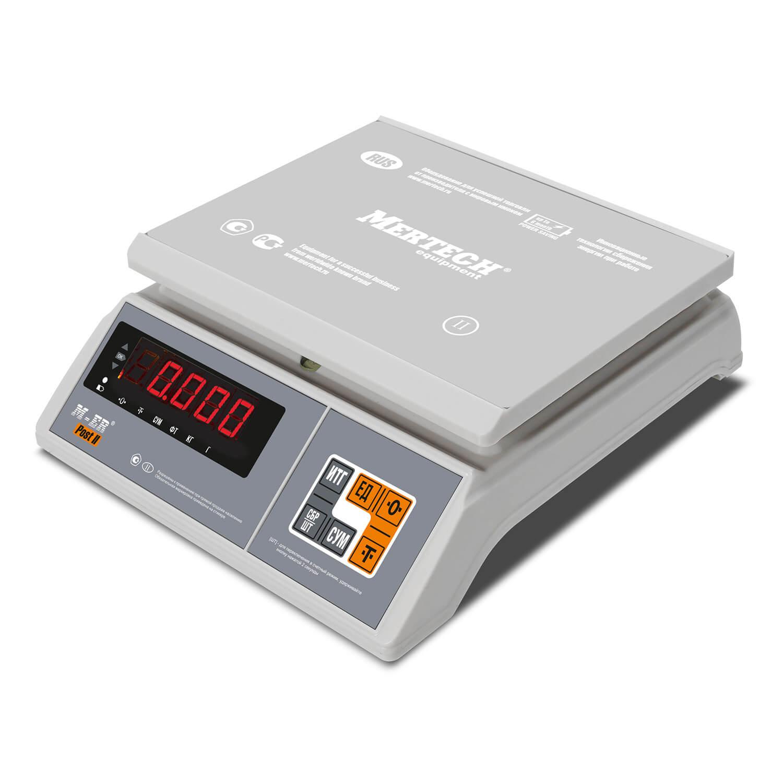 Фасовочные настольные весы M-ER 326 AFU-32.1 «Post II» LED