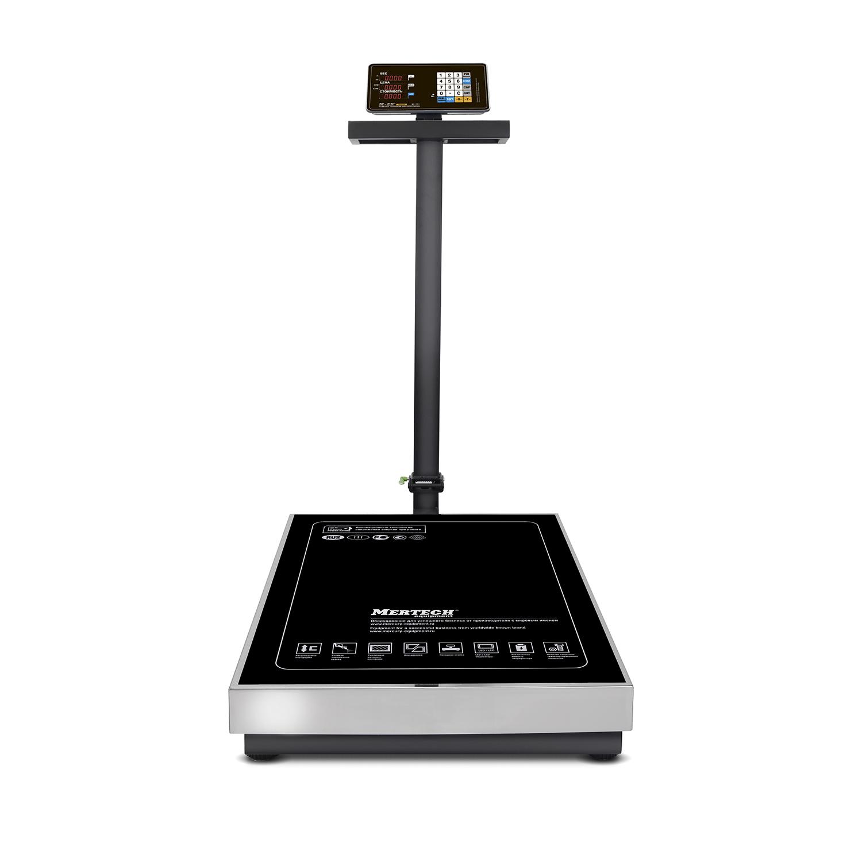 Торговые напольные весы M-ER 333 ACLP-300.50/100 «TRADER» с расч. стоимости LED