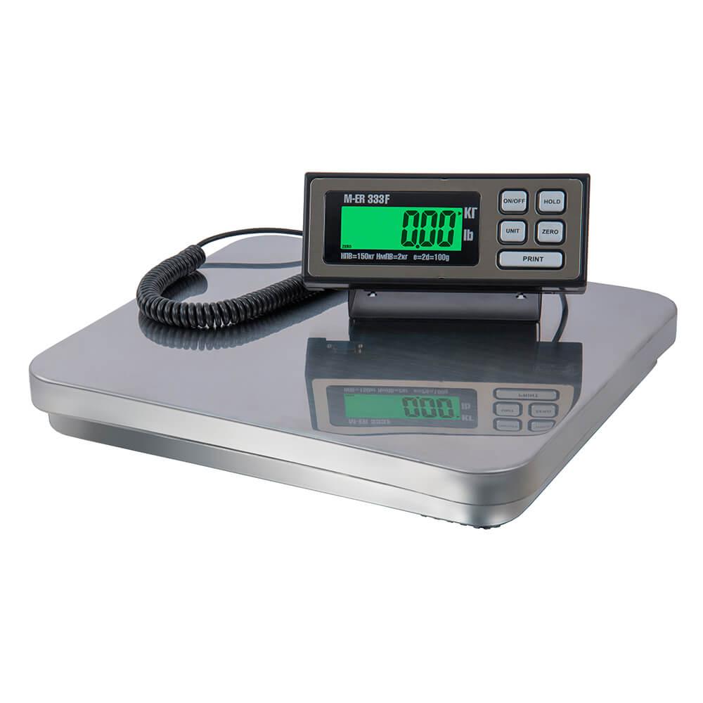 Фасовочные напольные весы M-ER 333 BF «FARMER» RS-232 LCD