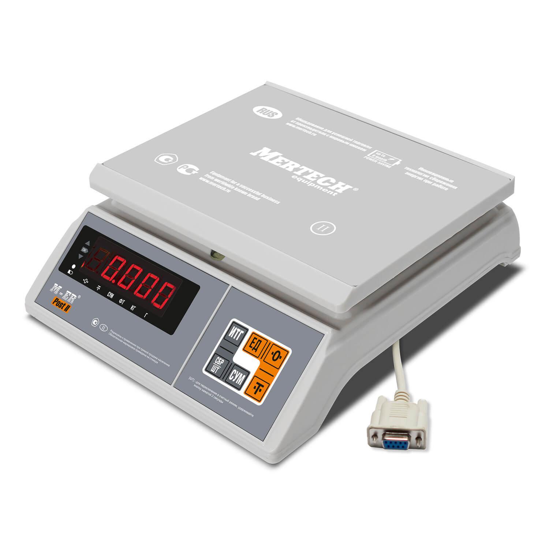 Фасовочные настольные весы M-ER 326 AFU-6.01 «Post II» LED RS-232