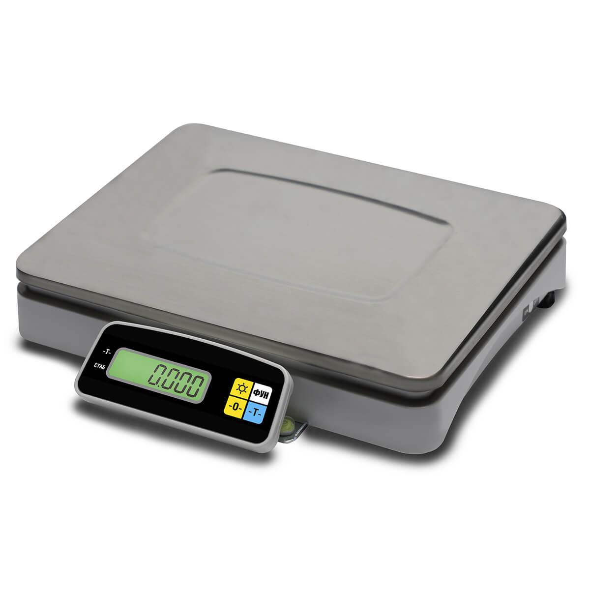 Фасовочные настольные весы M-ER 222 F-15.2 «Connect» LCD RS-232