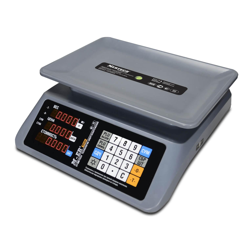 Торговые настольные весы M-ER 321 AC-32.5 «MARGO» LED
